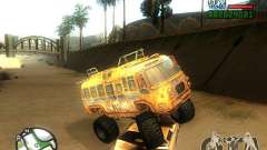 Bullet Storm Bus для GTA San Andreas