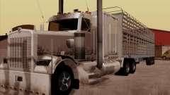 Kenworth W 900 RoadTrain для GTA San Andreas