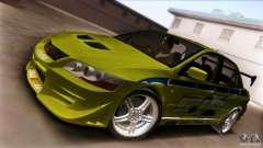 Mitsubishi Lancer Evo VII 2F2F для GTA San Andreas