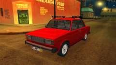 ВАЗ 2105 красный для GTA San Andreas