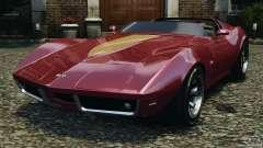 Chevrolet Corvette Sting Ray 1970 Custom для GTA 4
