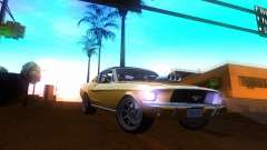 Ford Mustang 1967 GT Tuned для GTA San Andreas