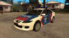 Mazda 6 Police Indonesia