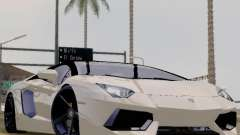 Lamborghini Aventador LP700-4 Vossen для GTA San Andreas