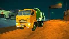 КамАЗ 6460 Бетономешалка для GTA San Andreas