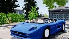 Jaguar XJ 220 для GTA 4