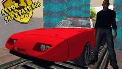 Dodge Charger Daytona Форсаж 6 для GTA San Andreas