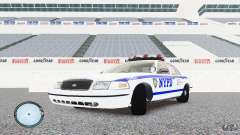Ford Crown Victoria 2003 NYPD для GTA 4