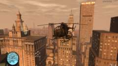 AH-6 Little Bird AcuDigital Camo для GTA 4
