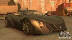 Marussia B2 2012 для GTA 4
