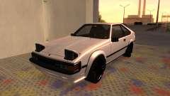 Toyota Celica Supra 2JZ-GTE 1984 для GTA San Andreas