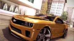 Chevrolet Camaro 2SS 2012 Bumblebee Transformers 3 v.2.0 для GTA San Andreas