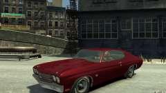 Chevrolet Chevelle SS 454 v2 для GTA 4