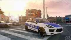 Porsche Cayenne Cop для GTA 4