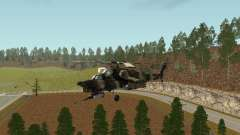MИ 28 HAVOC для GTA San Andreas