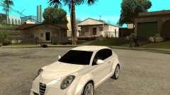 Alfa Romeo Mito для GTA San Andreas