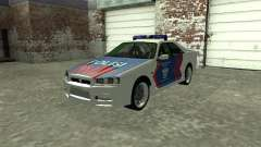 Nissan Skyline Indonesia Police
