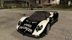 Pagani Zonda F Speed Enforcer BETA для GTA San Andreas