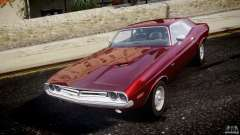 Dodge Challenger 1971 для GTA 4