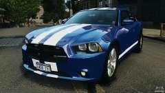 Dodge Charger Unmarked Police 2012 [ELS] для GTA 4