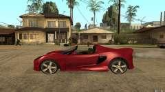 Lotus Elise from NFSMW для GTA San Andreas