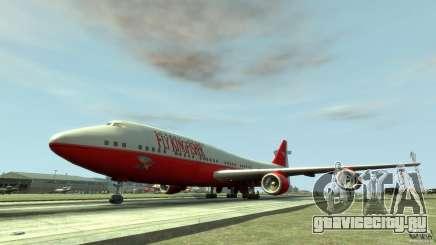 Fly Kingfisher Airplanes with logo для GTA 4