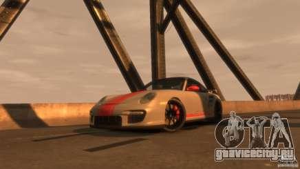 Porsche 911 GT2 белый для GTA 4