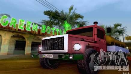 ГАЗ 3309 Молоковоз для GTA San Andreas