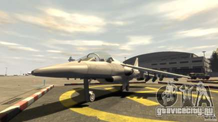 Liberty City Air Force Jet with landing gears (с шосси) для GTA 4