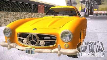 Mercedes-Benz 300SL для GTA San Andreas