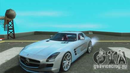 Mercedes-Benz SLS AMG 2010 v.1.0 для GTA San Andreas