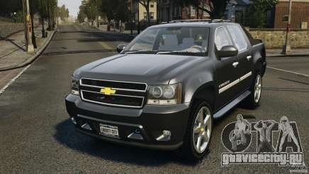 Chevrolet Avalanche Stock [Beta] для GTA 4