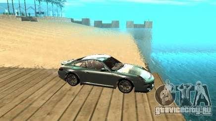 Porsche 997 GT3 RS серебристый для GTA San Andreas