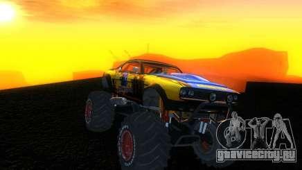 Fire Ball Paint Job 2 для GTA San Andreas