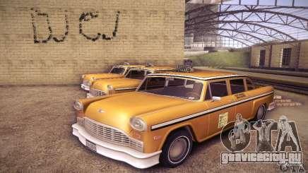 Cabbie HD для GTA San Andreas