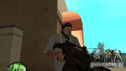 Автомат Росса для GTA San Andreas