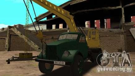 ГАЗ 51 Автокран для GTA San Andreas