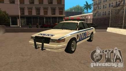 Полиция из гта4 для GTA San Andreas