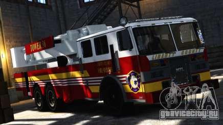 SS10 Tower Ladder v1.0 для GTA 4