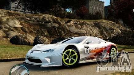 Lexus LFA Speedhunters Edition для GTA 4