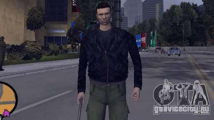 Claude HD from GTA III для GTA Vice City