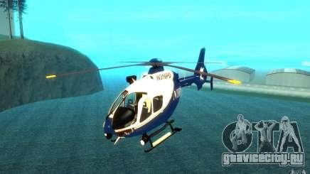NYPD Eurocopter By SgtMartin_Riggs для GTA San Andreas