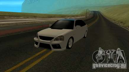 ВАЗ 2172 белый для GTA San Andreas