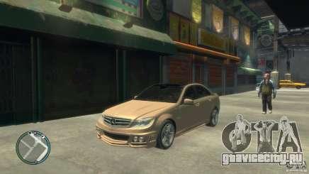 Mercedes-Benz C63 для GTA 4