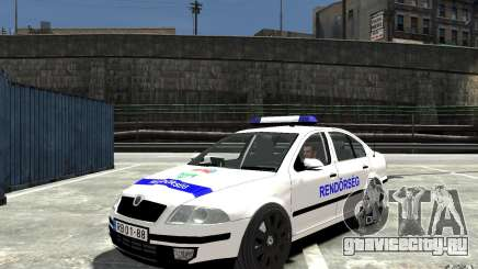 Skoda Octavia 2005 Hungarian Police для GTA 4