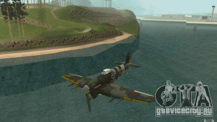 Hawker Typhoon для GTA San Andreas