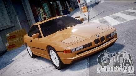 BMW 850i E31 1989-1994 для GTA 4