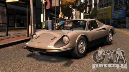Ferrari Dino 246 GTS 1972 для GTA 4