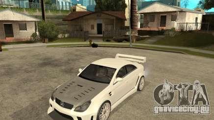 MERCEDES CLS 63 AMG TUNING для GTA San Andreas