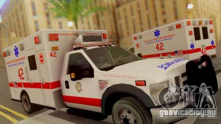 Ford F350 Super Duty Chicago Fire Department EMS для GTA San Andreas